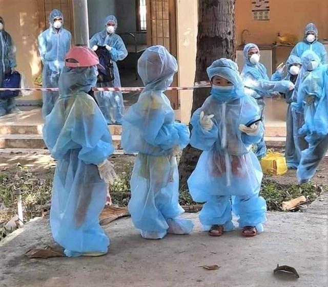 TP HCM đang điều trị cho hơn 3.600 trẻ em nhiễm Covid-19.