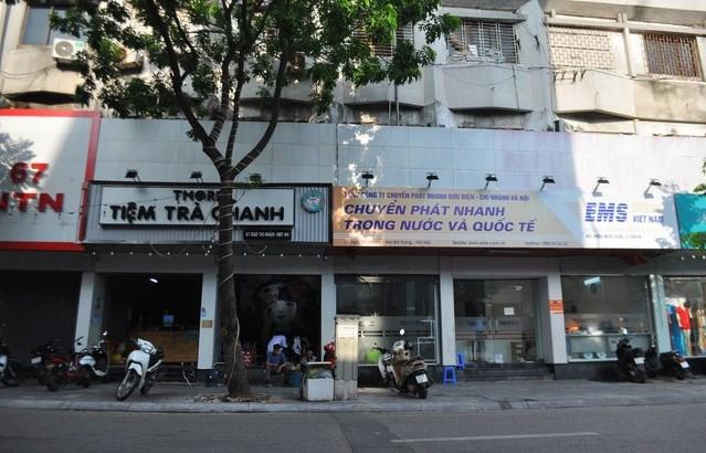 """Khu """"đất vàng"""" bậc nhất Hà Nội tại số 67 Ngô Thì Nhậm, quận Hai Bà Trưng đang là nơi kinh doanh, buôn bán của 9 cơ sở kinh doanh khác nhau."""