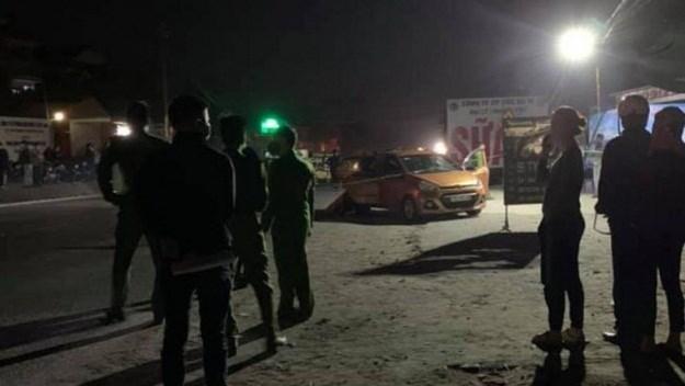 Hiện trường vụ truy sát khiến 8 người thương vong.