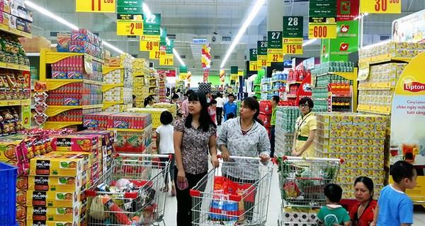 Hàng Việt chiếm tỷ lệ lớn trong hệ thống các siêu thị.