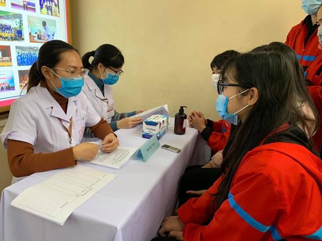 Tình nguyện viên đăng ký thử nghiệm Covivac