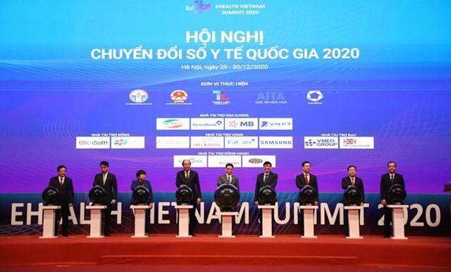Hội nghị Chuyển đổi số y tế Quốc gia năm 2020.