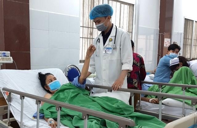 Bệnh nhân nữ V và bệnh nhân nam H đang dần bình phục và được xuất viện ngày mai 9/3