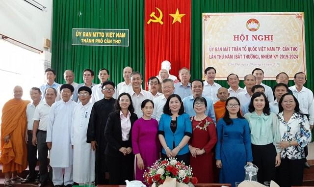 Ông Nguyễn Trung Nhân giữ chức Chủ tịch Mặt trận TP Cần Thơ - Ảnh 1