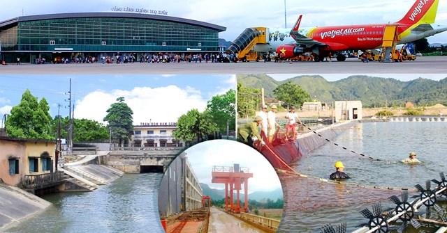 Cảng hàng không Thọ Xuân trên đà phát triển thành cảng hàng không quốc tế. Ảnh: M.H