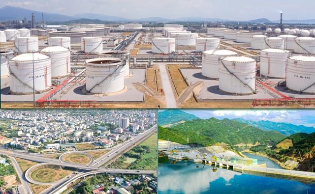 Sự phát triển vượt bậc của Thanh Hoá trong những năm qua cả về lĩnh vực công nghiệp, nông nghiệp, kiến thiết hạ tầng... Ảnh: M.H