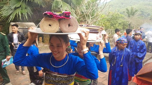 Những giá trị truyền thống văn hoá của đồng bào các dân tộc xứ Thanh luôn được gìn giữ và phát huy. Ảnh: A.T.