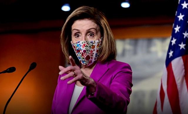 Chủ tịch Hạ viện Nancy Pelosi. Ảnh: Reuters.