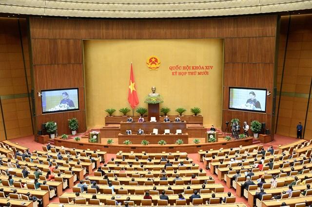 Người dân Hà Nội đã bỏ phiếu bầu Quốc hội Khóa I vào ngày 6/1/1946.Ảnh: TTXVN.