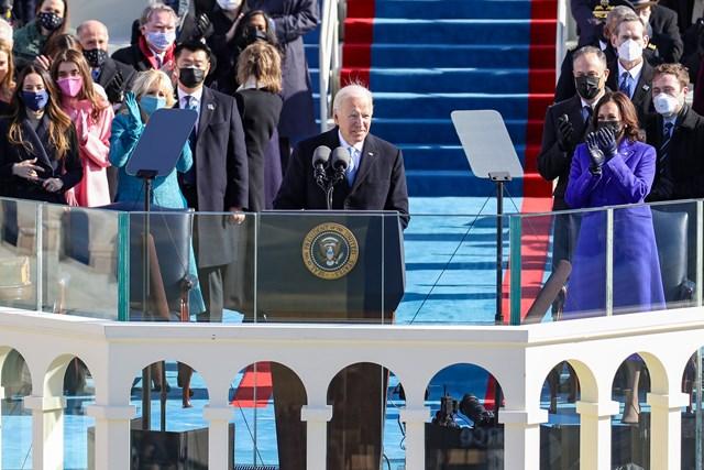 Ông Biden trở thành tổng thống thứ 46 của Mỹ - Ảnh 9