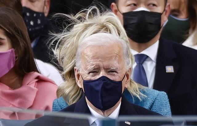 Tổng thống Joe Biden trong lễ nhậm chức của mình hôm 20/1, tại Washington, DC.