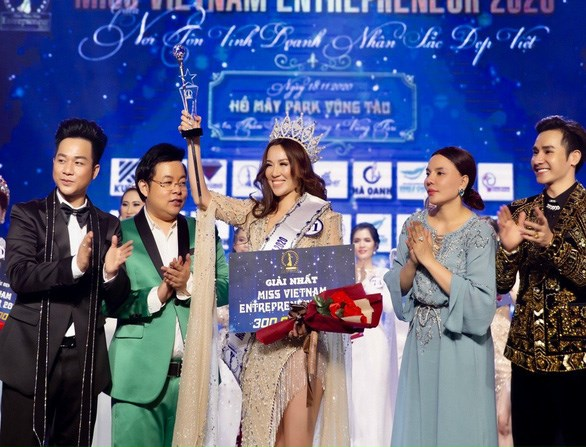 Người đoạt vương miện cuộc thi Hoa hậu Doanh nhân sắc đẹp Việt 2020 đã có đơn tố cáo BTC cuộc thi có dấu hiệu lừa đảo.