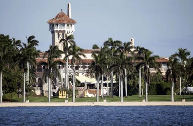 Khu nghỉ dưỡng Mar-a-Lago thuộc sở hữu của gia đình Trumps ở Palm Beach, Florida, Mỹ.