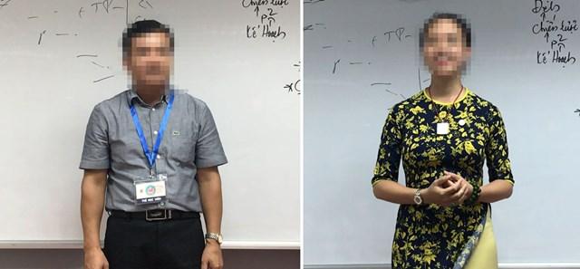 """Một """"mệnh lớn"""" hoạt động trong lĩnh vực ngân hàng (ảnh trái) và một trưởng khoa đại học đang chia sẻ tại CLB Tình Người."""
