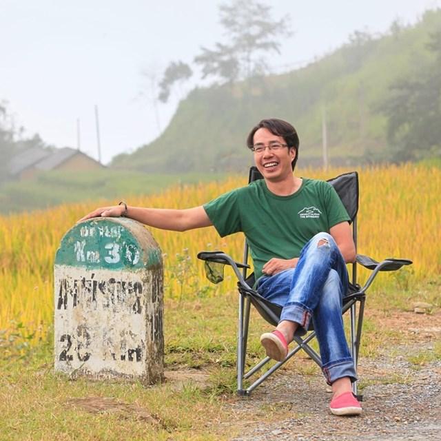 Nhà báo Trương Anh Ngọc.