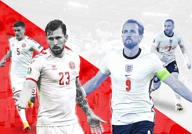 Anh và Đan Mạch đã sẵn sàng đến sân Wembley - Ảnh 2
