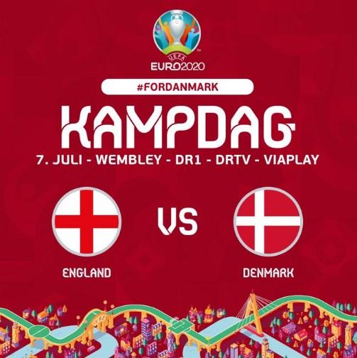 Anh và Đan Mạch đã sẵn sàng đến sân Wembley - Ảnh 1