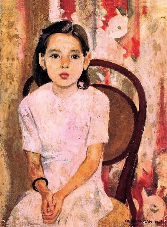 Em Thúy (sơn dầu, 1943).