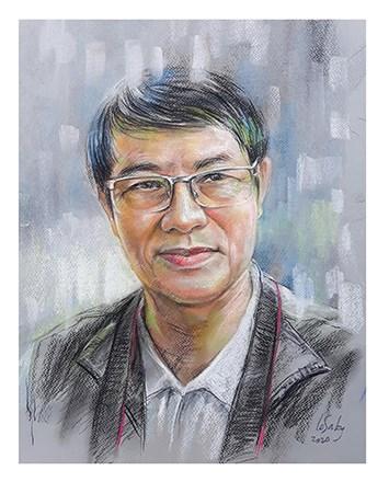 Nhà thơ, Nhà báo Huỳnh Dũng Nhân.