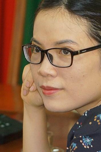 Nhà văn Võ Thu Hương.