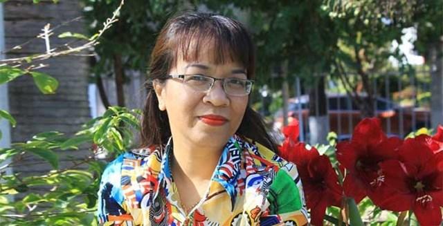 Nhà văn Niê Thanh Mai.