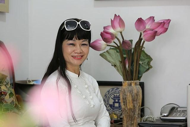 Nhà văn Võ Thị Xuân Hà.