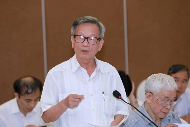 Ông Lê Truyền, nguyên Phó Chủ tịch UBTƯ MTTQ Việt Nam, nguyên Tổng Biên tập báo Đại Đoàn Kết.