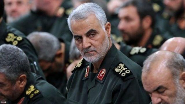 Tướng Iran Soleimani trước khi bị ám sát. Ảnh: BBC.