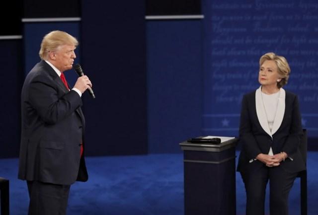 Cuộc tranh luận Trump - Clinton, ngày 27/9/2016.