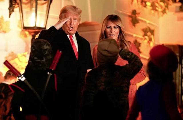 [ẢNH] Vợ chồng Tổng thống Trump mở tiệc Halloween tại Nhà Trắng - Ảnh 3