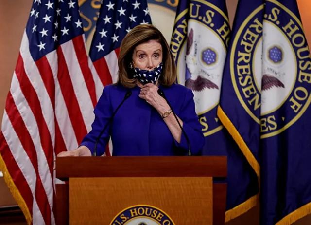 Chủ tịch Hạ viện Hoa Kỳ Nancy Pelosi. Ảnh: Reuters.