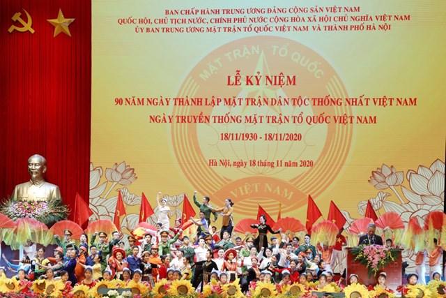 [ẢNH] Lễ kỷ niệm Ng&rgb(2, 2, 4);y truyền thống Mặt trận Tổ quốc Việt Nam - Ảnh 6