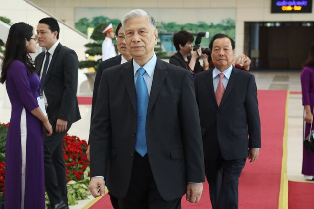 Các đại biểu tới dự Lễ kỷ niệm.
