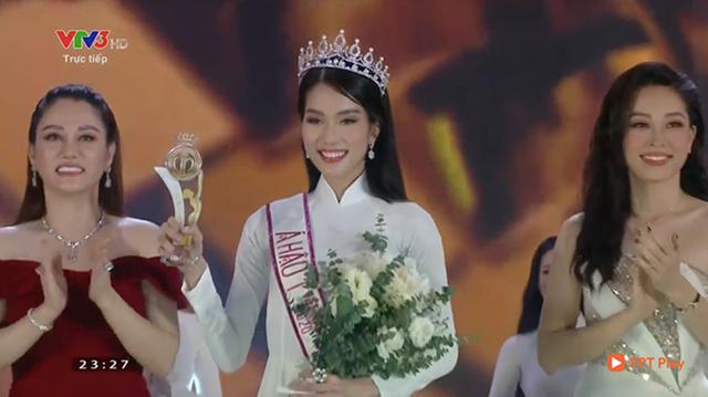 Á hậu 1 Hoa hậu Việt Nam 2020 Phạm Ngọc Phương Anh. (Ảnh chụp màn hình).