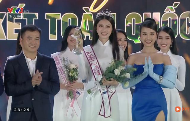 Á hậu 2 Hoa hậu Việt Nam 2020 Nguyễn Lê Ngọc Thảo.(Ảnh chụp màn hình).