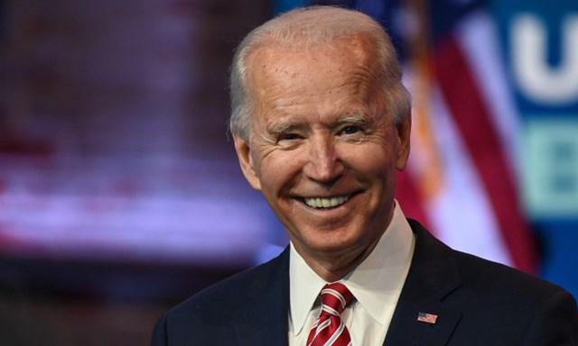 """""""Tổng thống đắc cử"""" Joe Biden. Ảnh: AFP."""