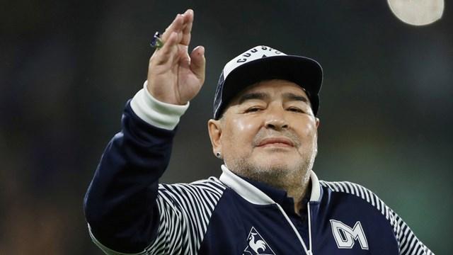 Huyền thoại bóng đá ngườiArgentinaDiego Maradona. Ảnh: Reuters.