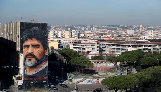 [ẢNH] Huyền thoại Maradona về nơi an nghỉ cuối cùng - Ảnh 1