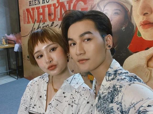 """Ali Hoàng Dương chúc Hiền Hồ gặt hái được nhiều thành công trong MV """"Gặp nhưng không ở lại"""" mới ra mắt của cô."""