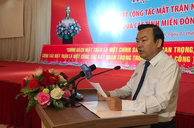 Ông Phạm Hùng Thái, Phó Bí thư Thường trực Tỉnh ủy Tây Ninh.