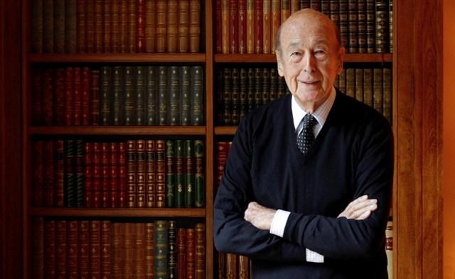 Cựu Tổng thống Pháp Valéry Giscard d'Estaing. Ảnh: Reuters.