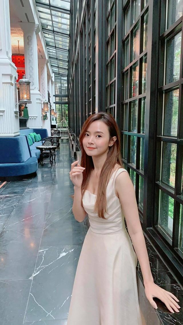 Midu đang có kỳ nghỉ thoải mái ở Lào Cai.