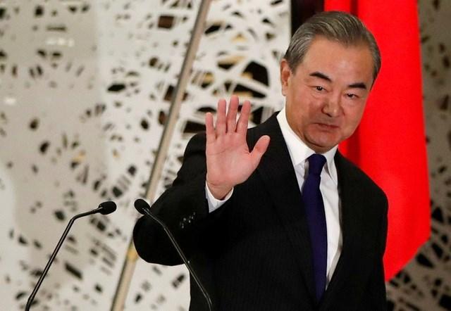 Ngoại trưởng Trung Quốc Vương Nghị. Ảnh Reuters.