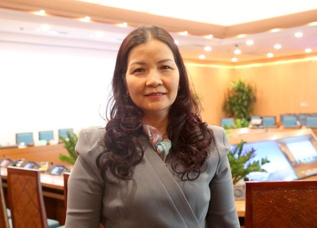 Phó Giám đốc Phụ trách Sở Công Thương Hà Nội Trần Thị Phương Lan.