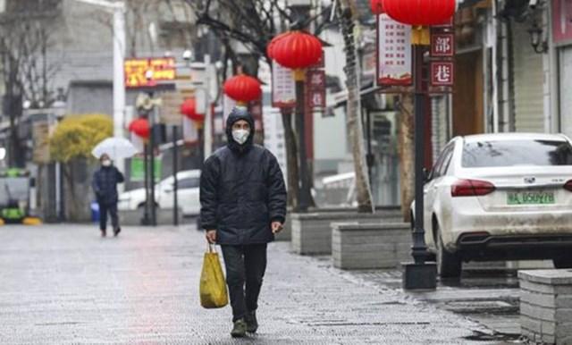 Thành phố Vũ Hán, Trung Quốc những ngày khởi phát dịch Covid-19. Nguồn: AP.