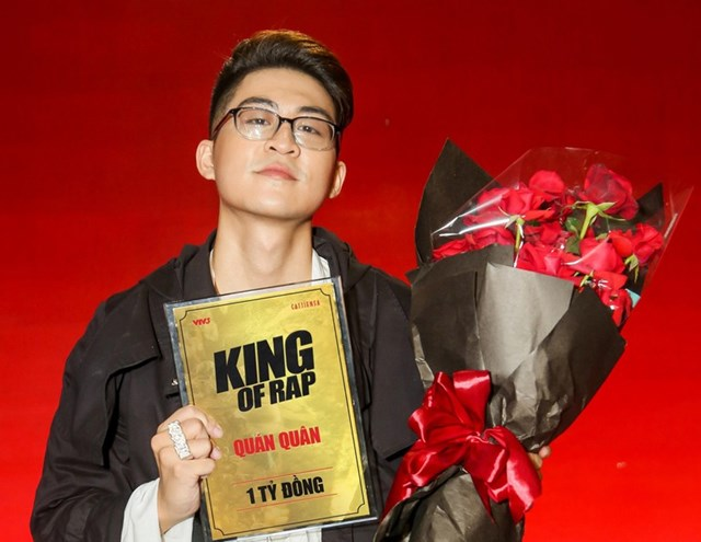 Quán quân 'King of rap' 2020.