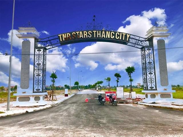 Cổng dự ánTNR Stars Thắng City.