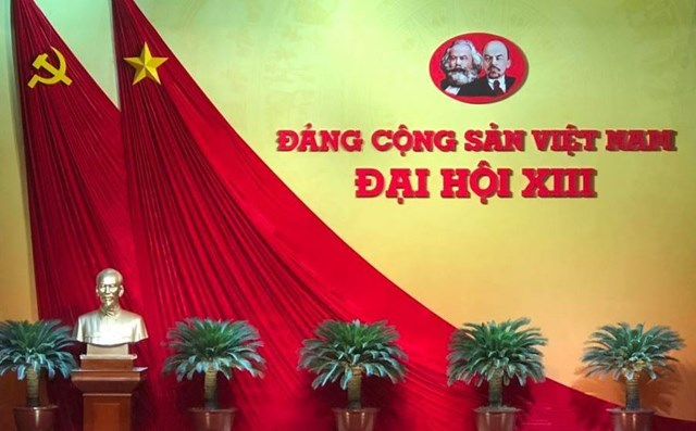 Đại hội lần thứ XIII của Đảng diễn ra từ ngày 25/1/2021 đến ngày 2/2/2021 tại Thủ đô Hà Nội.