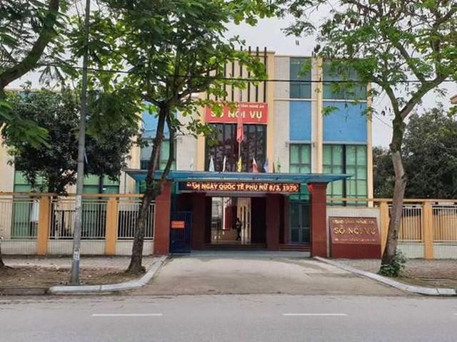 Trụ sở Sở Nội vụ tỉnh Nghệ An.