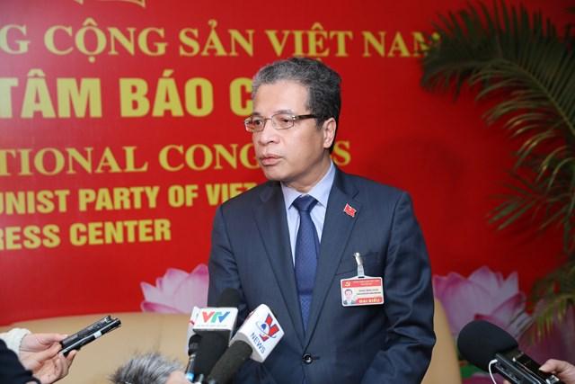 Thứ trưởng Đặng Minh Khôi. Ảnh: Quang Vinh.